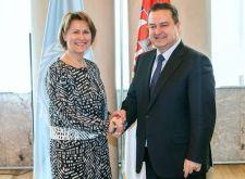 Poseta Grete Faremo - podsekretarke Ujedinjenih nacija i direktorke UNOPSa
